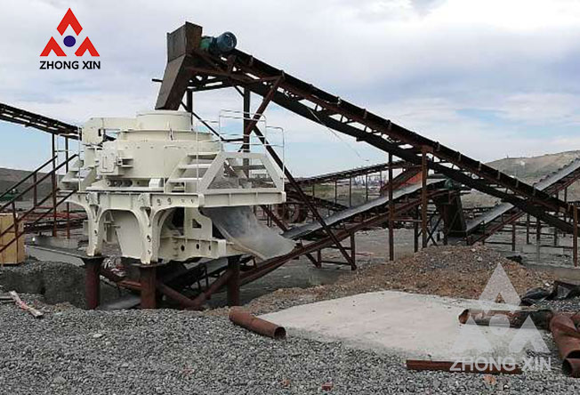 250tph Granite Crushing Production Line