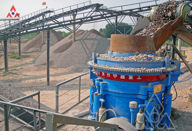 250TPH River Stone Crushing Plant