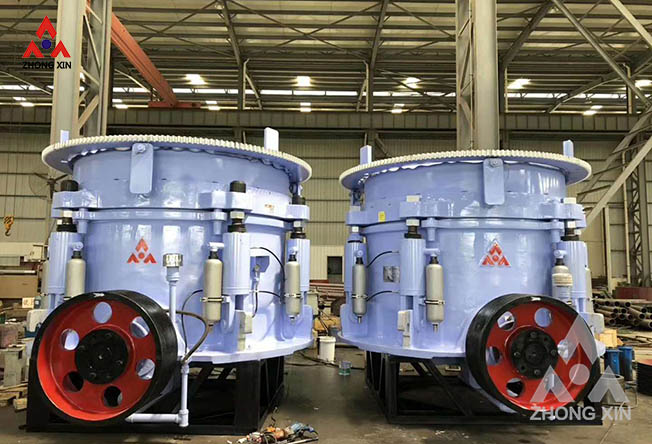 Cause analysis of slow discharge of hydraulic cone crusher