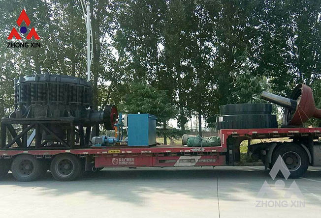 Zhongxin ZX Compound Cone Crusher is shipping