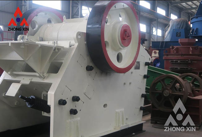 Reduce dust pollution of jaw crusher