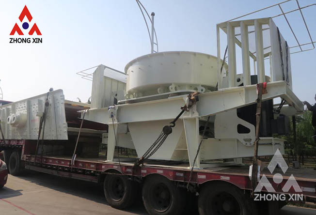 How to reduce abnormal wear of sand making machine accessories