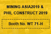 Welcome to visit the MINING ASIA EXHIBITION Philippines CONSTRUCT 2019 Zhongxin Heavy Industry Booth