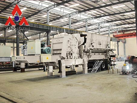 PC Series Mobile Impact Crusher Plants