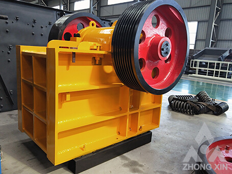 Jaw crusher is suitable for primary and secondary crushing.