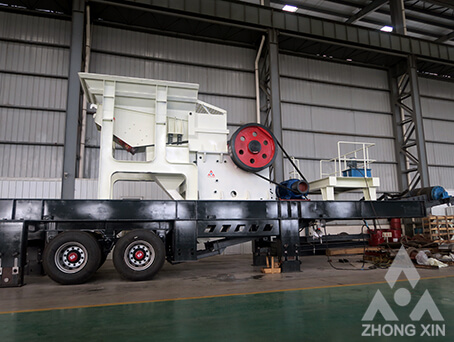 PC Series Mobile Jaw Crusher Plants