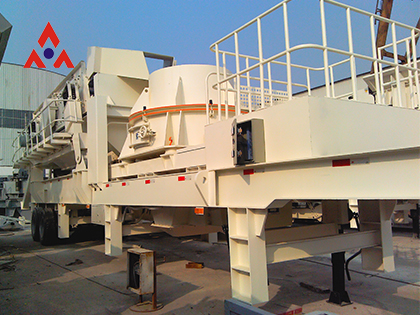 PC Series Mobile VSI Crushing Plants