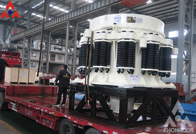 Hazard of unstable operation of spring cone crusher