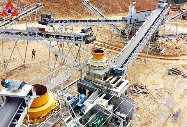 The reasons for cone crusher Stucked