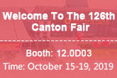 Welcome to 126th canton fair